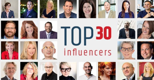 Top 30 influencers