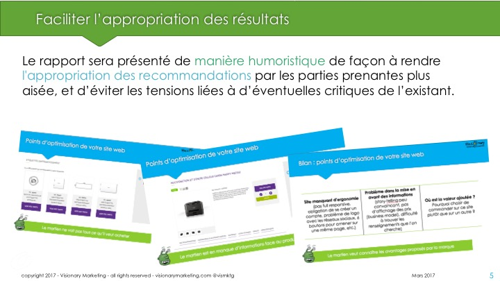 Le rappport du martien - transformation digitale - Visionary Marketing