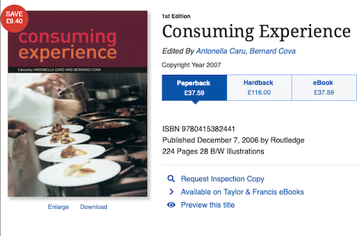 Customer Experience Marketing (CEM) Book – a sneak preview