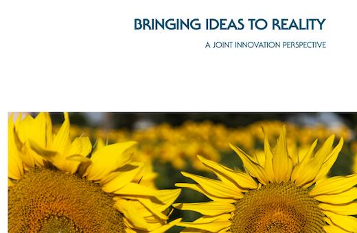 """Livre blanc """"des idées à la réalité"""" comment mettre en œuvre l'innovation"""