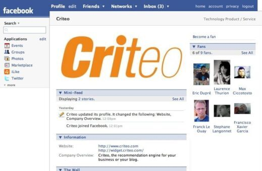 Facebook ami des marques