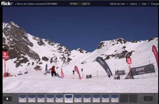 Flickr, Verbier et Nissan : street marketing sur les skis