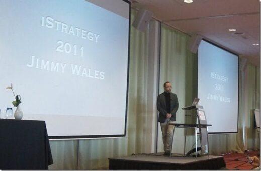 Jimmy Wales : Wikipedia en chiffres c'est 20 millions d'articles !