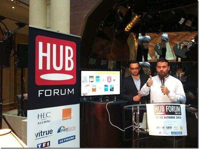 le livre de media aces livre digital de l'année au hub forum 2012 ?