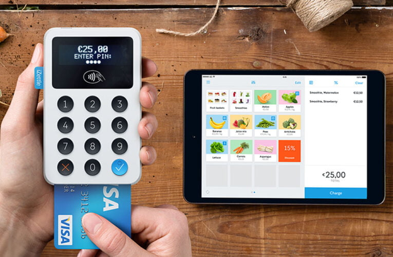 iZettle turns iPhones into Point of Sales payment terminals