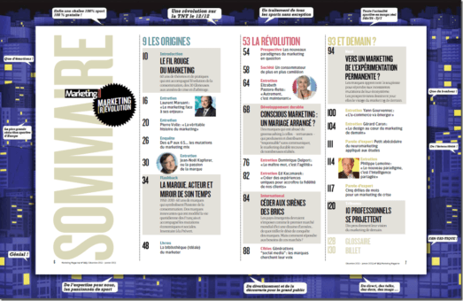 Marketing révolution dans Marketing magazine un numéro indispensable