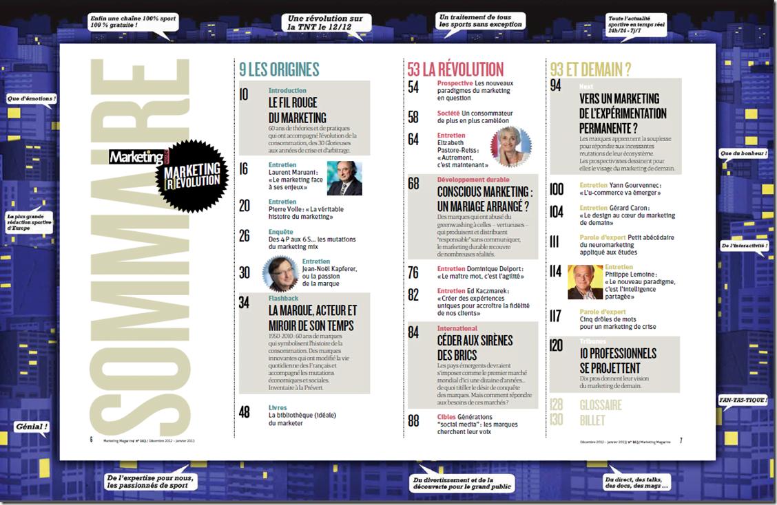 Marketing Magazine fait sa révolution – un n° spécial indispensable