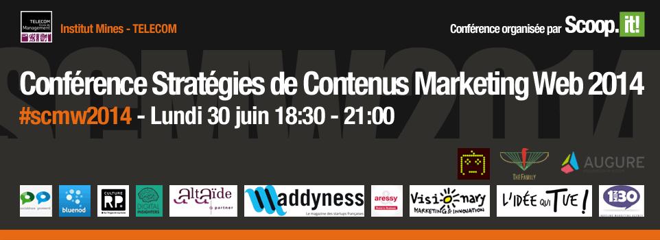 Stratégies de contenu - #SMCW2014