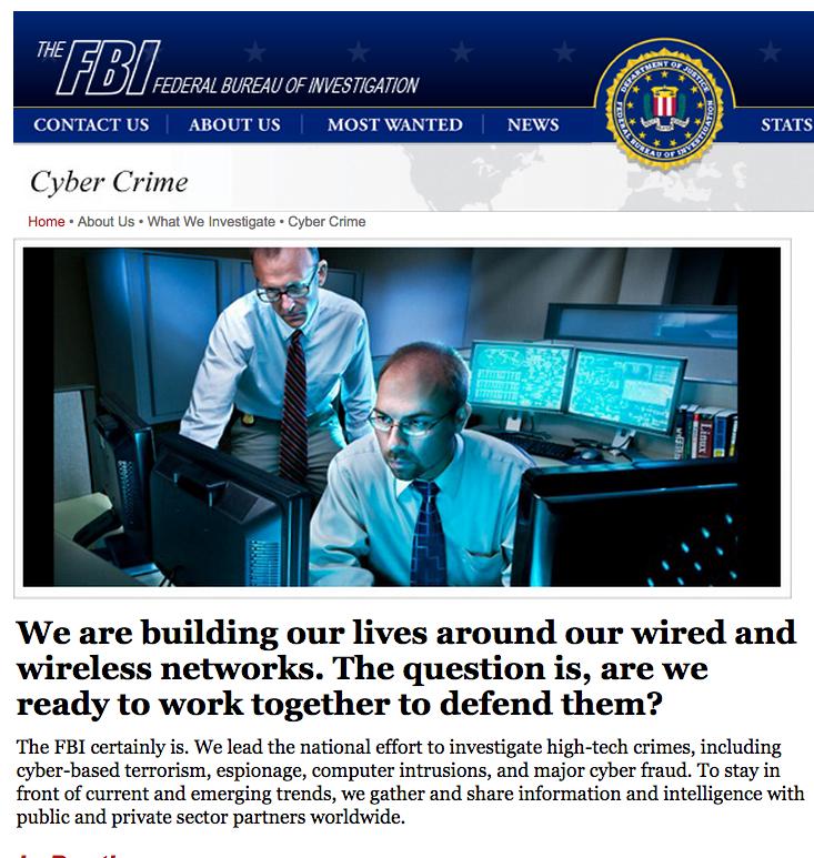 Streaming - FBI cyber crime