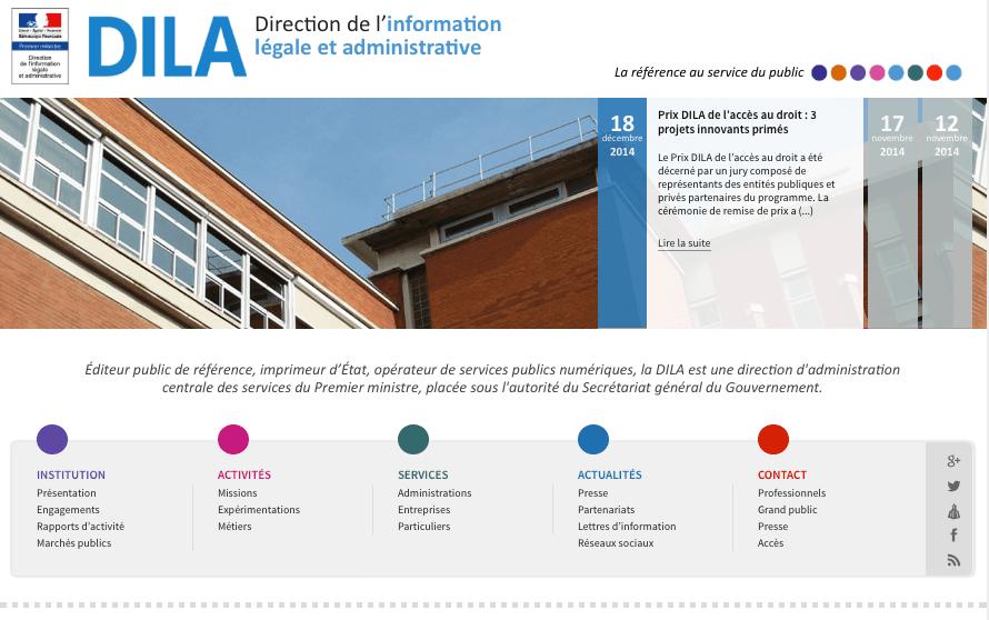 Transformation digitale : la DILA, éditeur de l'Etat