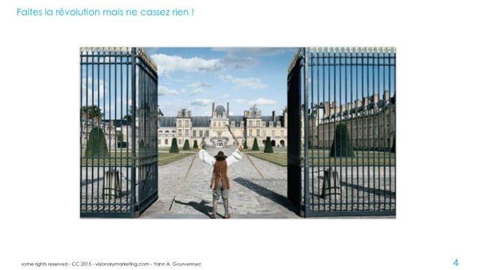 RH faites la révolution mais ne cassez rien (adapté d'une publicité de PWC de 2009)