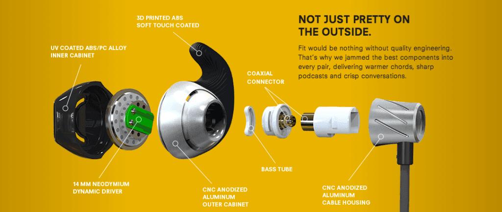 Un exemple de personnalisation rendue possible grâce à l'impression 3D : une oreillette adaptée à votre oreille.