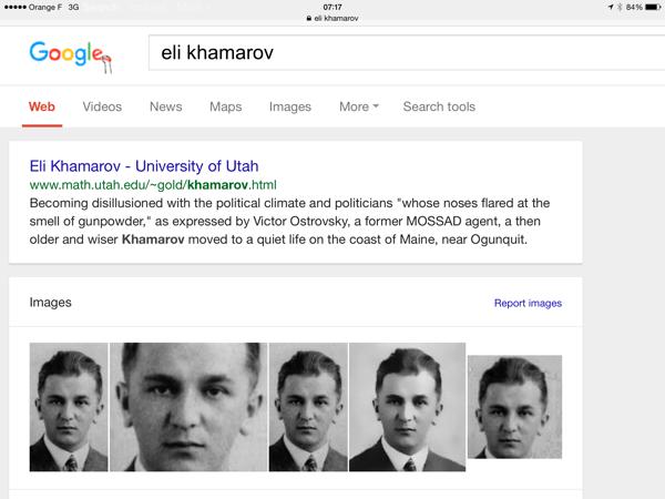 Elie khamarov -biography