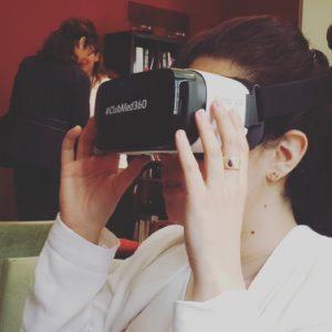 Casque de réalité virtuelle Club med