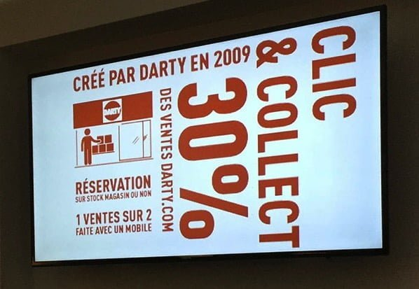 30% des ventes de Darty.com en Click & Collect