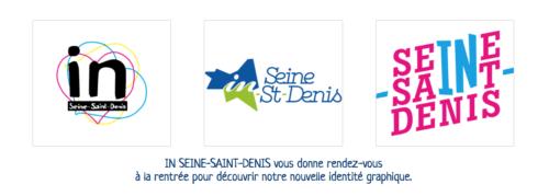L'un de ces trois logos ci-dessus deviendra le symbole de la marque In Seine Saint Denis.
