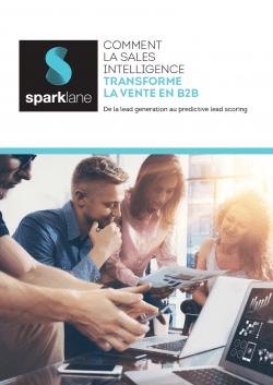 télécharger le livre blanc Sparklane sur la sales intelligence
