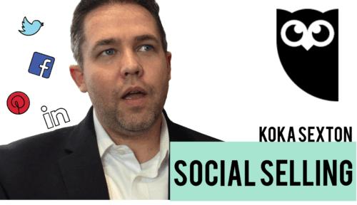 Koka sexton, social selling