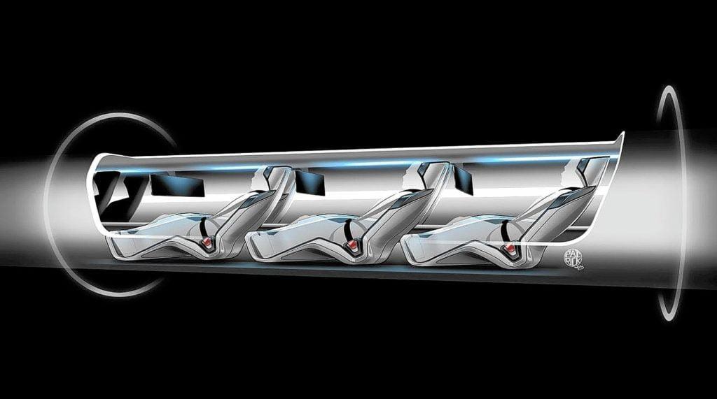 Hyperloop d'Elon Must