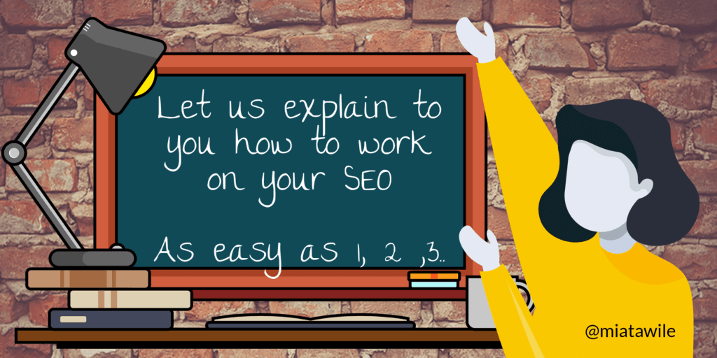 How to work on your SEO