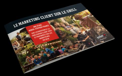livre blanc sur le marketing client avec WEBER