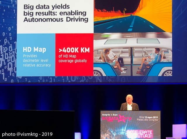 Autonomous driving is Tom Tom 's ultimate Big Data objective