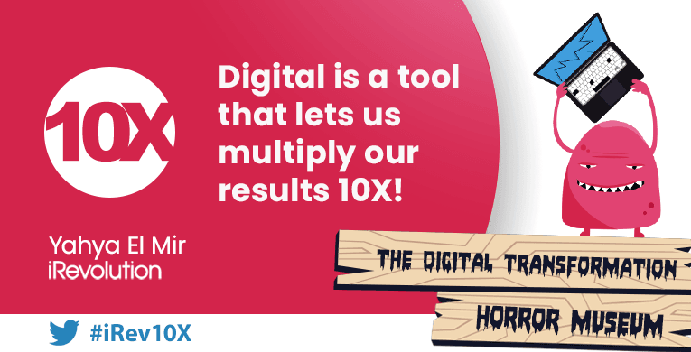 Digital Strategy Success: Think 10X And Nothing Else #irev10X
