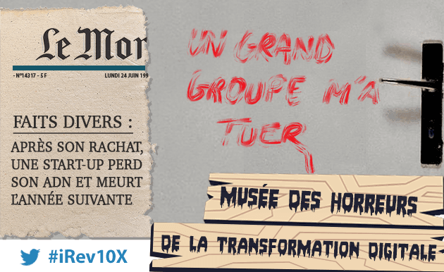 Grands groupes startups : un grand groupe m'a tuer !