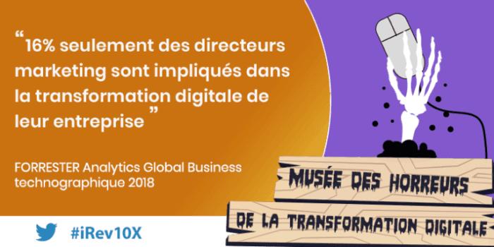 les marketeurs tenus à l'écart de la transformation digitale –  Forrester
