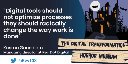 Transformation —digital or not — is about jumping into the unknown.
