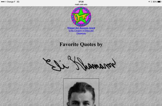 Eli Khamarov ce célèbre inconnu qui nous éclaire sur les Fake News