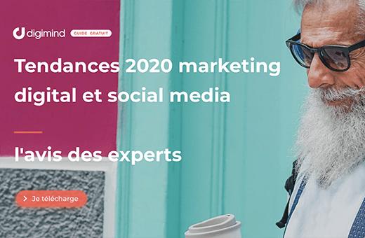 Tendances médias sociaux 2020 et marketing digital avec Digimind