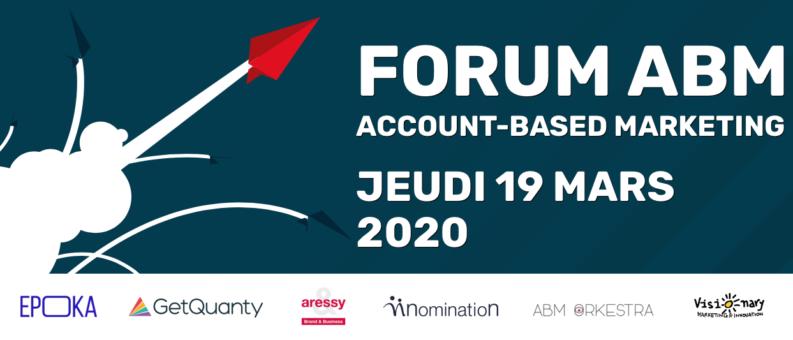 Pemière édition duForum Account Based Marketing