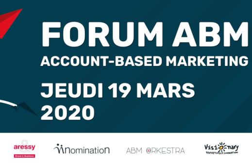 Pemière édition duForum Account-Based Marketing