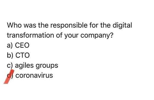 La transformation digitale s'est-elle accélérée sous l'effet du coronavirus?