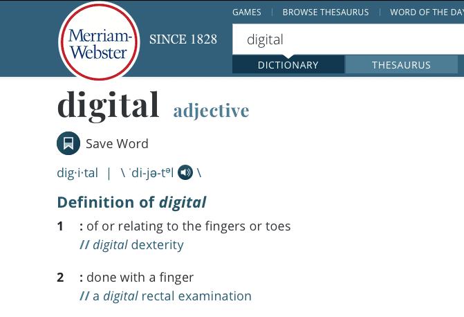 Digital numérique