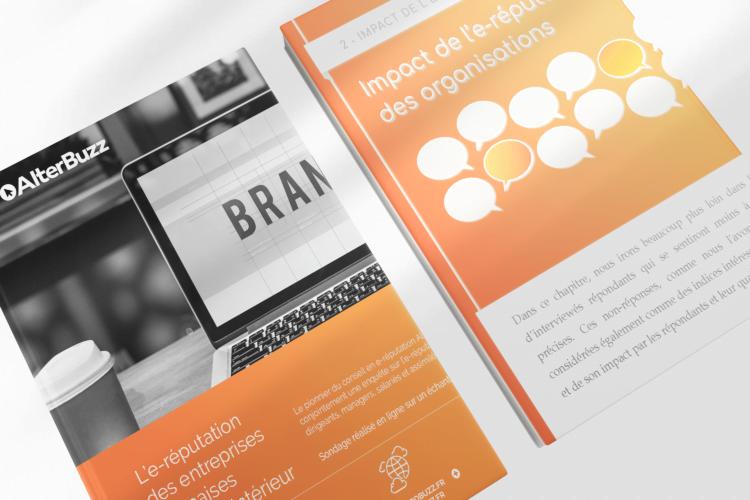 étude sur l'e-réputation des entreprises françaises en 2020