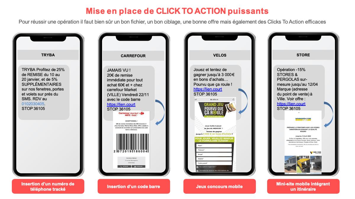 Le SMS en return to store