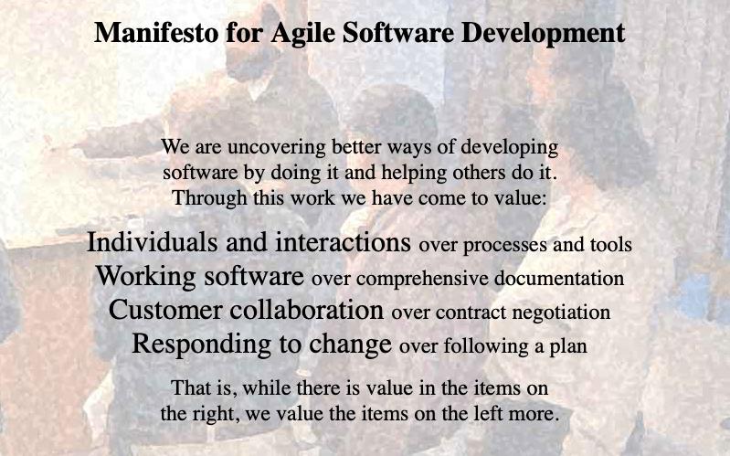 4 grandes règles de la méthode Agile