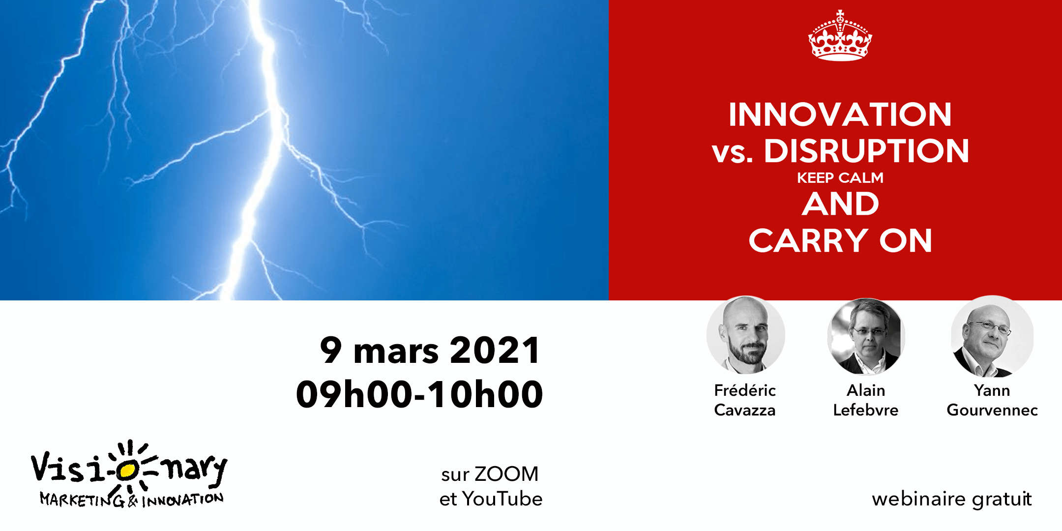 Innovation vs disruption : un webinaire pratique pour décoder l'innovation