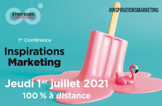 Prenez une dose d'inspirations marketing le 1er juillet 2021
