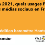 4e Baromètre Hootsuite Visionary Marketing médias sociaux 2021