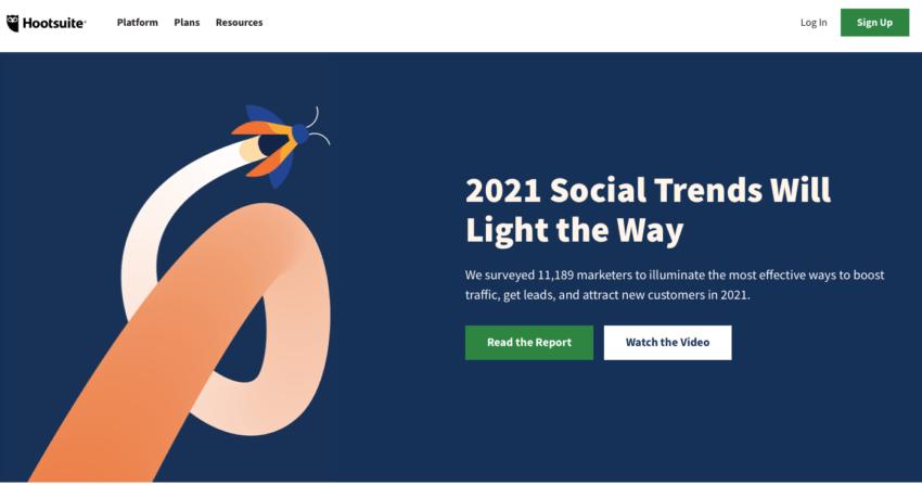 Tendances médias sociaux 2021 et 2021